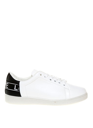 Limon Company Yazı Baskılı Kadın Düz Ayakkabı Beyaz